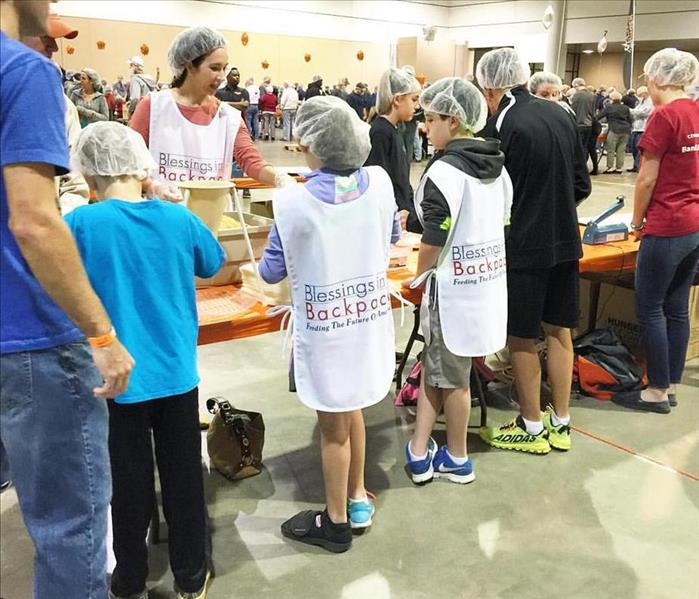 First Coast Blessings in a Backpack Hunger Fight, November 2015