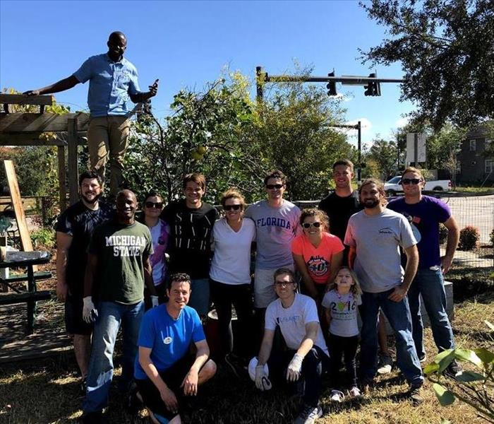 ImpactJAX Service & Giving Committee, Community Garden Project, November 2017
