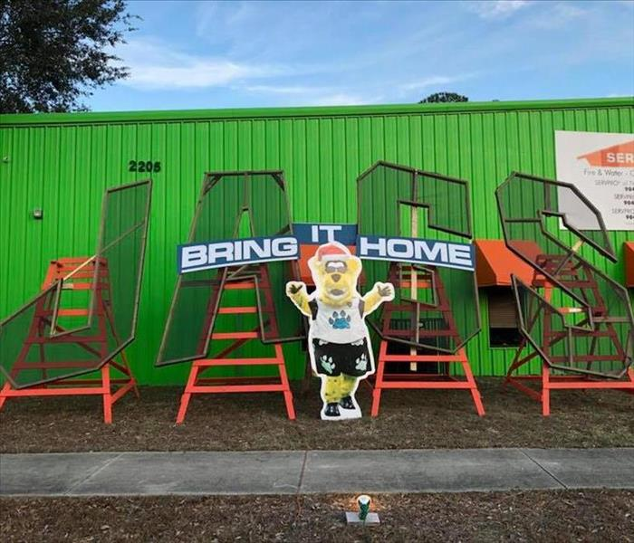 Deck the Chairs, Jaguars Tribute Chair, January 2018