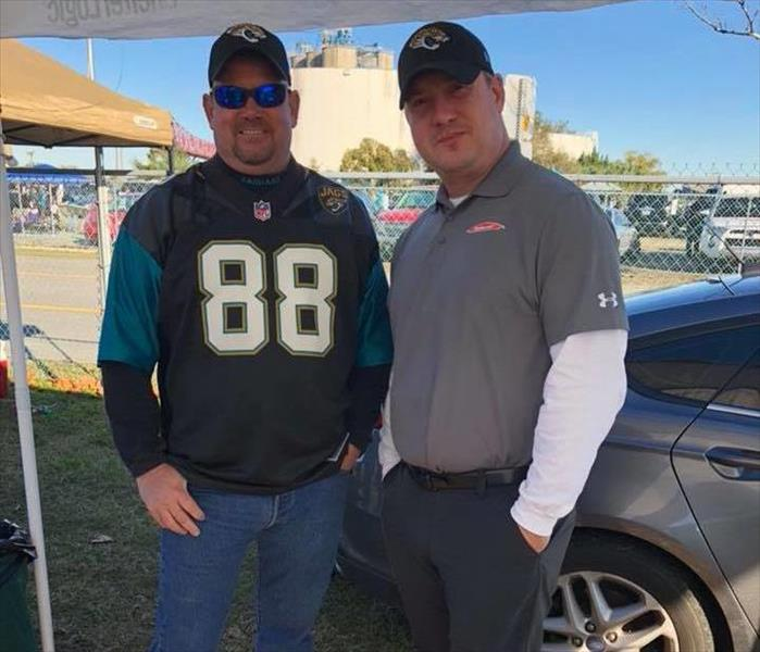 Jaguars Game with Business Partners, December 2017