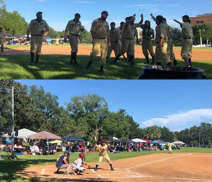 Historic Springfield Throwback Baseball Game, July 4, 2018