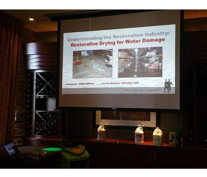 Continuing Education Class, Water Damage, April 20, 2017