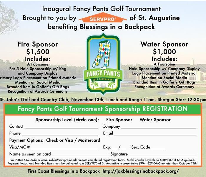 Fancy Pants Golf Tournament, November 13, 2015