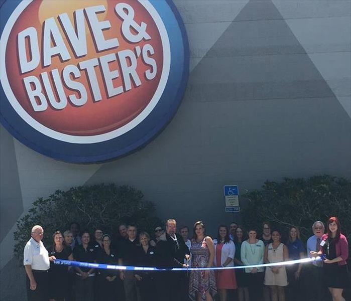 Jacksonville Chamber Ribbon Cutting, Dave and Buster's, July 5, 2016