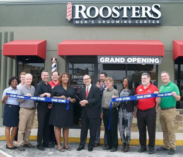 Rooster's JaxChamber Ribbon Cutting, November 9, 2017