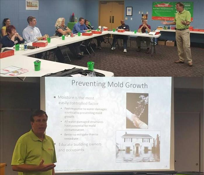Insurance CE Class on Mold, September 29, 2015