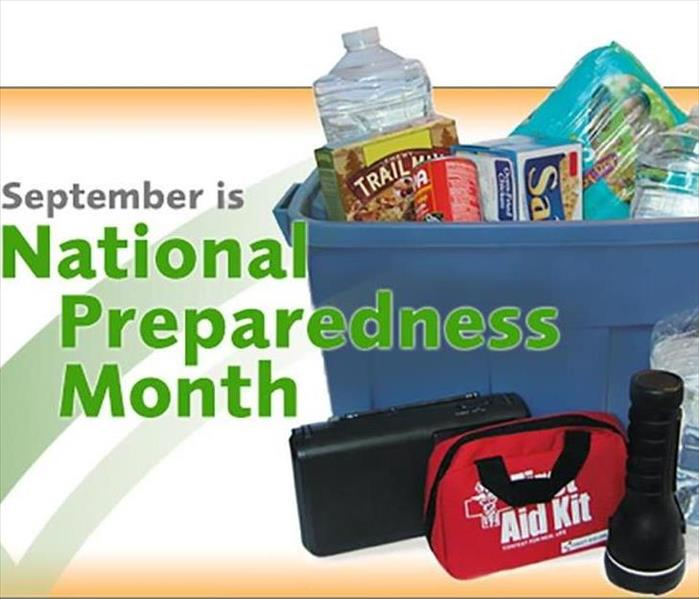 Storm Damage September is National Preparedness Month